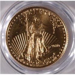 2010 1/10th GOLD AMERICAN EAGLE