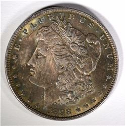 1898 MORGAN DOLLAR BU GREAT COLOR