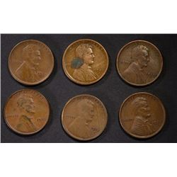 LINCOLN CENT LOT;
