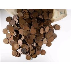 5000 LOOSE CIRC LINCOLN WHEAT CENTS
