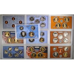2009, 2010 & 2011 Proof Sets