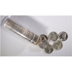 ROLL OF AU MERCURY DIMES