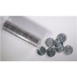"BU ROLL OF 1943-D LINCOLN ""STEEL"" CENTS"
