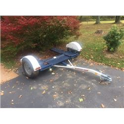 New Master Vehicle Tow Dolly w/ Straps