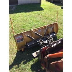 Like-new 7ft. Curtis Angle Snow Plow