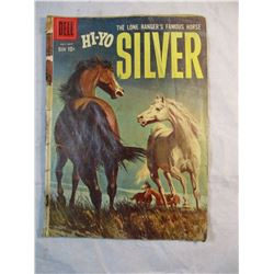 Hi-Yo Silver The Lone Rangers Famous Horse July-Sept 1959