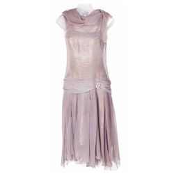 "Debbie Reynolds ""Kathy Selden"" screen worn lavender silk chiffon dress from Singin' in the Rain."