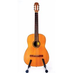 Debbie Reynolds personal perfomance used acoustic guitar from her Las Vegas stage act.