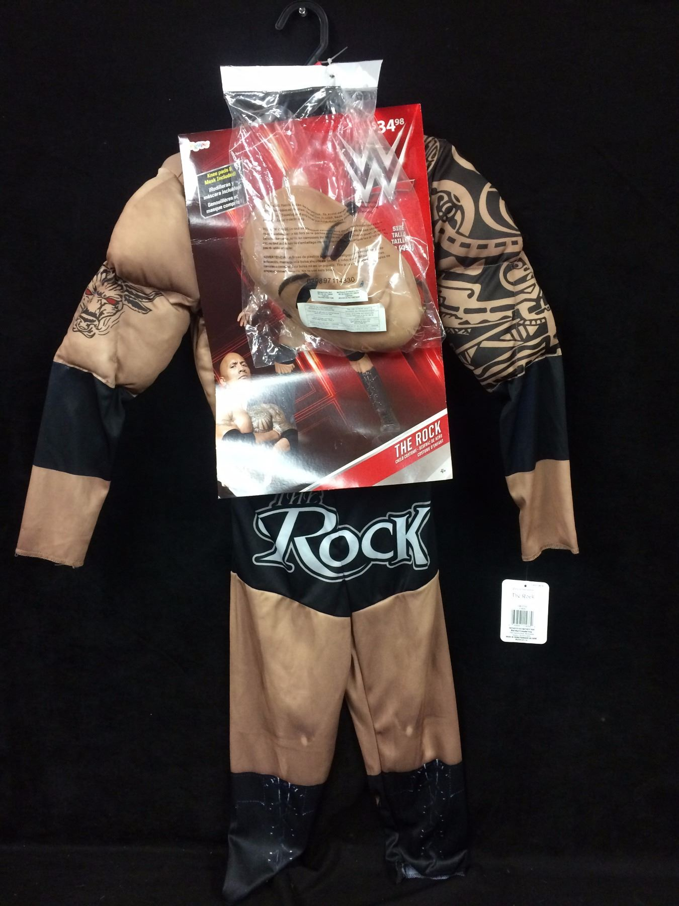 the rock wwe halloween costume