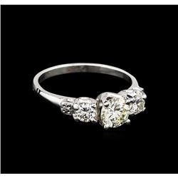 EGL USA Cert 1.40 ctw Diamond Ring - Platinum