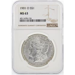1901-O NGC MS63 Morgan Silver Dollar