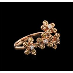 0.63 ctw Diamond Ring - 14KT Rose Gold