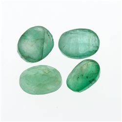 4.34 cts. Oval Cut Natural Emerald Parcel