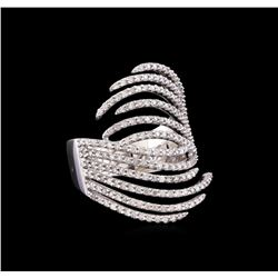 14KT White Gold 0.68 ctw Diamond Ring