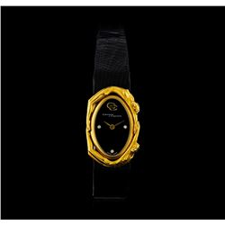Carrera y Carrera 18KT Yellow Gold Watch