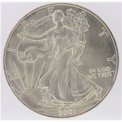 2001 American Silver Eagle Dollar Coin