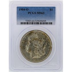 1904-O PCGS MS63 Morgan Silver Dollar