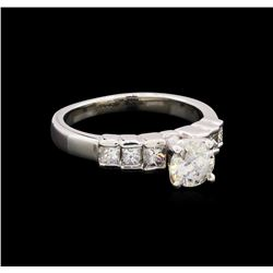 1.15 ctw Diamond Ring - Platinum