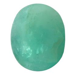 6.06 ctw Oval Emerald Parcel