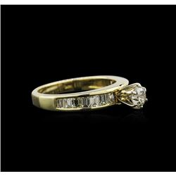 1.21 ctw Diamond Ring - 14KT Yellow Gold