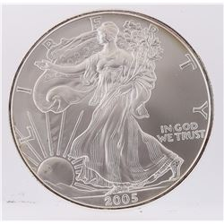 2005 American Silver Eagle Dollar Coin