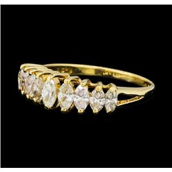 1.01 ctw Diamond Ring - 14KT Yellow Gold