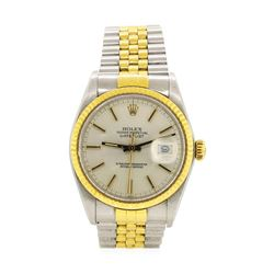 Rolex 18KT Yellow Gold and Stainless Steel Men's Wristwatch