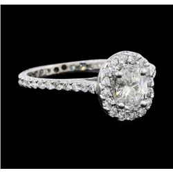 1.62 ctw Diamond Ring - 14KT White Gold