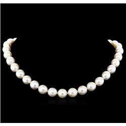 South Sea Cultured Pearl Necklace - 14KT Yellow Gold