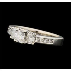 1.09 ctw Diamond Ring - 14KT White Gold