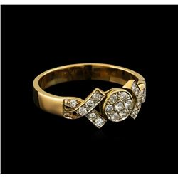 0.25 ctw Diamond Ring - 18KT Rose Gold