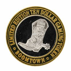 .999 Silver Boomtown Hotel & Casino Reno, NV $10 Limited Edition Gaming Token