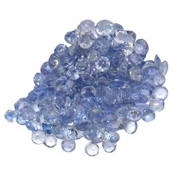 11.85 ctw Round Mixed Tanzanite Parcel