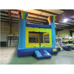 FULL CAGE BALLOON BOUNCE CASTLE SIZE 14' X 14' X 18' WITH BLOWER