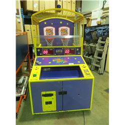 SUPERSHOT JR BY SKEE BALL DUAL BASKETBALL AMUSEMENT GAME