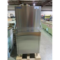 "NEW STAINLESS PATRIOT 3 PHASE  COMMERCIAL DISHWASHER MODEL PHT-18 DIMENSION 31.5""W X 32.6""D X 73.2""H"