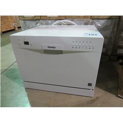DANDBY WHITE COUNTERTOP DISHWASHER MODEL DDW611WLED
