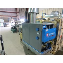 ALLIED ENGINEERING SUPERHOT HIGH EFFICIENCY AAA SERIES NATURAL GAS BOILER 160 PSI 250 FAHRENHEIT