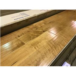 CANTRUST HANDSCRAPED NATURAL HARD MAPLE ENGINEERED SOLID HARDWOOD FLOORING