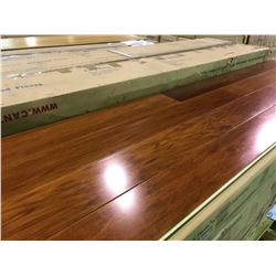 CANTRUST NATURAL AFRICAN CHERRY ENGINEERED SOLID HARDWOOD FLOORING