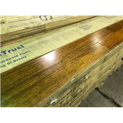 CANTRUST WIDE PLANK EXOTIC NATURAL MERBAU SOLID HARDWOOD FLOORING