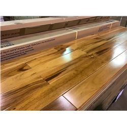 CANTRUST EXOTIC NATURAL TIGERWOOD SOLID HARDWOOD FLOORING