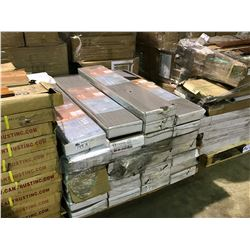 PALLET OF CANTRUST ASSORTED GLUE LESS LAMINATE FLOORING