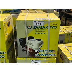 NEW YAMAKOYO YK650  4 STROKE SINGLE PISTON ENGINE
