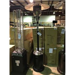 PARAMOUNT BLACK STAINLESS PATIO HEATER MODEL L10-SS-BK P