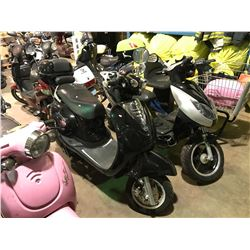 BLACK DAVINCI ELECTRIC  SCOOTER   (NO  REGISTRATION OR KEY OR CHARGER)