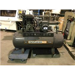 DEVILBISS PROAIR SDO-55582 175 PSI HORIZONTAL AIR COMPRESSOR(DOLLY NOT INCLUDED)