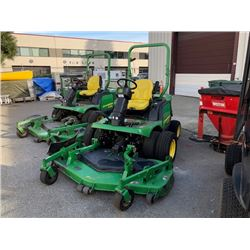 JOHN DEERE 1435 SERIES II 4WD, MOWER TRACTOR, GREEN, VIN # NEED VIN