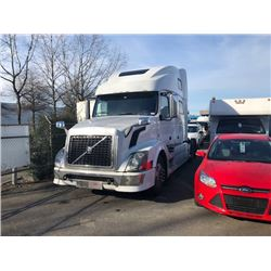 2009 VOLVO TRACTOR, WHITE, AUTOMATIC, DIESEL, VIN#4V4NC9EJ09N270773, 1,107,966KMS,