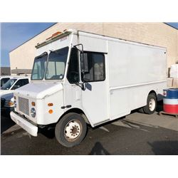 2006 WORKHORSE CUBE VAN, 6.0L GMC ENGINE, GAS, AUTOMATIC, VIN#5B4KPD2U963415312, 18,189KMS , OOC,